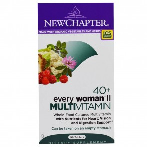 New Chapter Every Woman II 40+ Multivitamin 96 Tablets