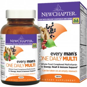 New Chapter Every Man's One Daily Multivitamin 96 Tablets