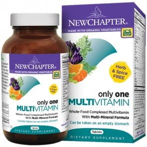 New Chapter Only One Multivitamin 72 Tablets