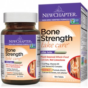 New Chapter Bone Strength Take Care Slim Tablets 30 Tablets