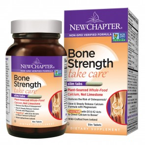 New Chapter Bone Strength Take Care Slim Tablets 60 Tablets