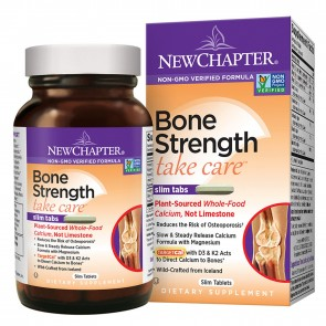 New Chapter Bone Strength Take Care Slim Tablets 120 Tablets