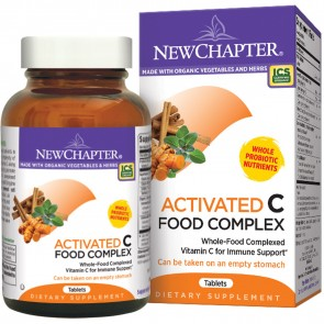 New Chapter Activated C Food Complex 90 Vegetarian Tablets
