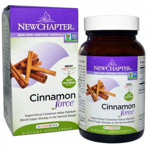 New Chapter Cinnamon Force 60 Veggie Capsules