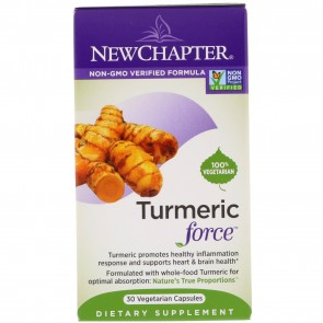 New Chapter Turmeric Force 30 Veggie Capsules