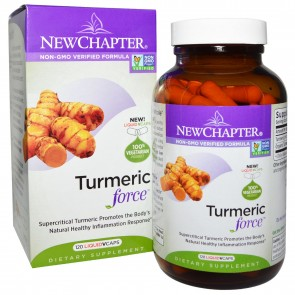New Chapter Turmeric Force 120 Veggie Capsules