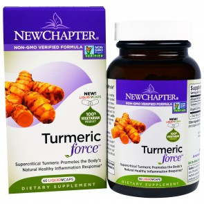 New Chapter Turmeric Force 60 Veggie Capsules