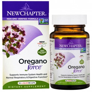 New Chapter Oregano Force 30 Liquid Vcaps