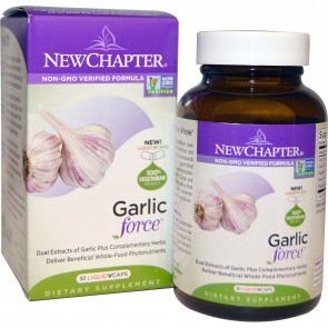 New Chapter Garlic Force 30 Vegetarian Capsules