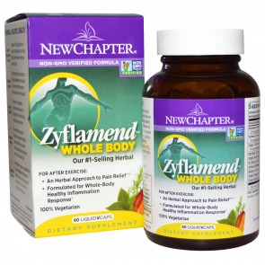 New Chapter Zyflamend Whole Body 60 Veggie Capsules