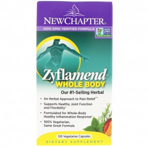 New Chapter Zyflamend Whole Body 120 Veggie Capsules