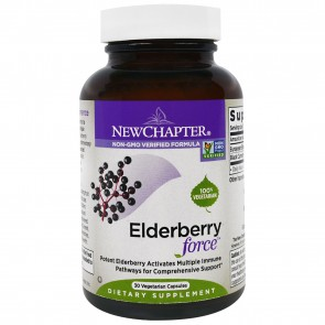 New Chapter Elderberry Force 30 Veggie Capsules