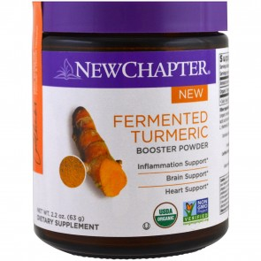 New Chapter Fermented Turmeric Booster Powder 63 Grams