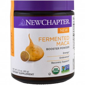 New Chapter Fermented Maca Booster Powder 63 Grams