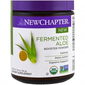 New Chapter Fermented Aloe Booster Powder 54 Grams