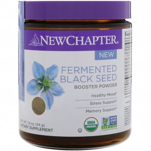 New Chapter Fermented Black Seed Booster Powder 54 Grams