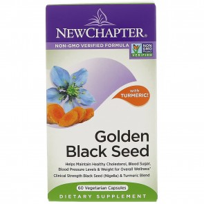 New Chapter Golden Black Seed 60 Vegetable Capsules