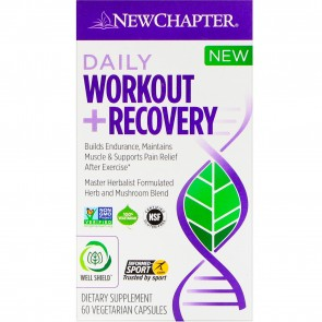 New Chapter Daily Workout +Recovery 60 Capsules
