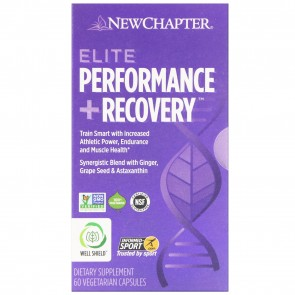 New Chapter Elite Performance +Recovery 60 Capsules