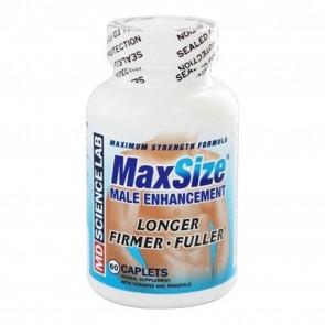 Max Size Male Enhancement Maximum Strength by MD Science Lab