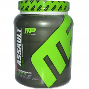 MusclePharm Assault Fruit Punch Powder 32 Servings