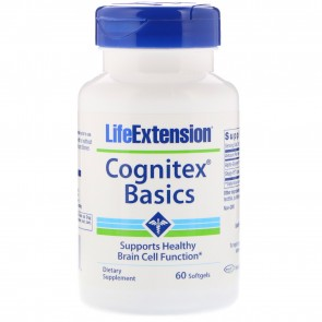 Life Extension Cognitex Basics 60 Softgels