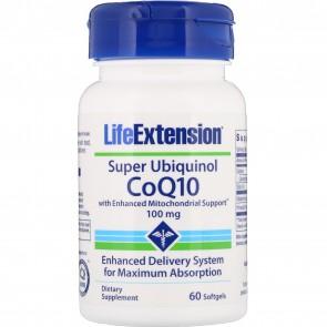 Life Extension CoQ10 100 Mg 60 Softgels