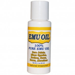 Natural Treasures, BNG, EMU Oil, 2 oz
