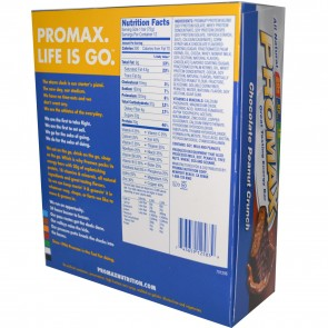 Promax Nutrition Promax Bar Chocolate Peanut Crunch 12 Bars