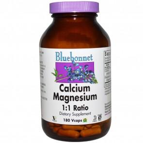 Bluebonnet Calcium Magnesium 1:1 180 Capsules
