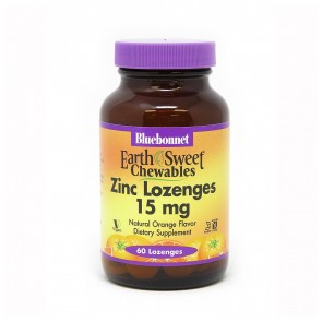 Bluebonnet Zinc Lozenges 15mg
