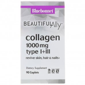 Bluebonnet Beautiful Ally Collagen 1000mg type I + III 90 Caplets