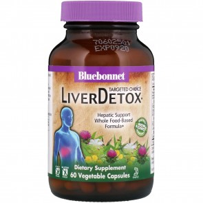 Bluebonnet Targeted Choice LiverDetox 60 Vegetable Capsules