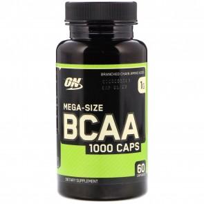 Optimum Nutrition Mega-Size BCAA 60 Capsules