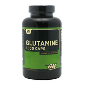 Optimum Nutrition Glutamine 1000mg 120 Capsules