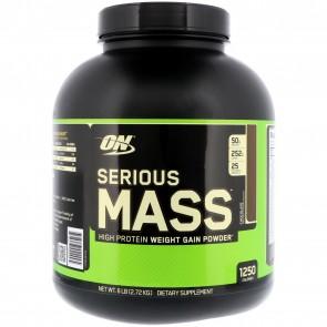 Optimum Nutrition Serious Mass Chocolate 6 lbs