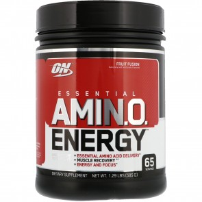 Optimum Nutrition Essential AmiN.O. Energy Fruit Punch 65 Servings
