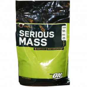 Optimum Nutrition Serious Mass Strawberry 12 lbs