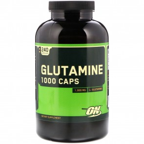 Optimum Nutrition Glutamine 1000mg 240 Capsules