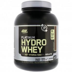 Optimum Nutrition Platinum Hydro Whey Protein Turbo Chocolate 3.5 lbs