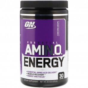 Optimum Nutrition Essential AmiN.O. Energy Grape 9.5oz