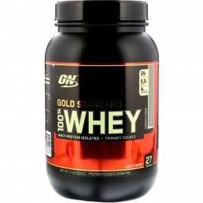 Optimum Nutrition Gold Standard 100% Whey Cookies and Cream 2 lbs