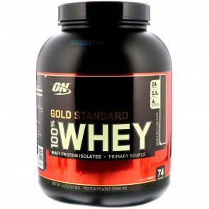 Optimum Nutrition Gold Standard 100% Whey Double Rich Chocolate 5 lbs