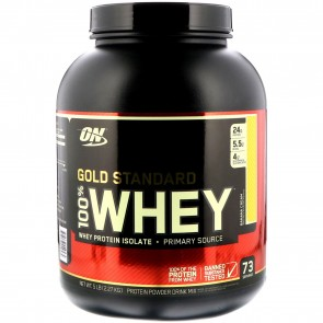 Optimum Nutrition Gold Standard 100% Whey Banana Cream 5 lbs