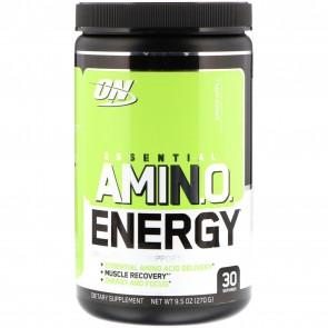 Optimum Nutrition Essential AmiN.O. Energy Green Apple 9.5oz (270g) 30 Servings