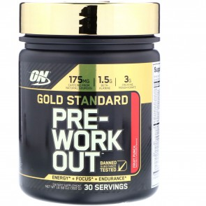 Optimum Nutrition Gold Standard Pre-Workout Fruit Punch 10.58 oz (300 g)