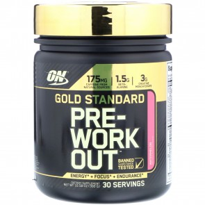Optimum Nutrition Gold Standard Pre-Workout Watermelon 10.58 oz