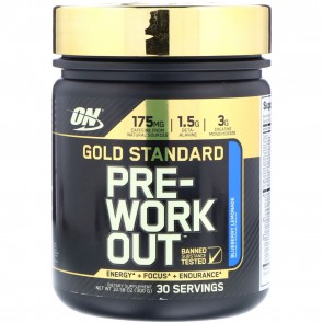 Optimum Nutrition Gold Standard Pre-Workout Blueberry Lemonade 10.58 oz (300 g)