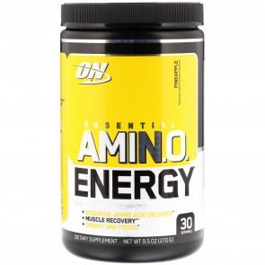 Optimum Nutrition Essential AmiN.O. Energy Pineapple 9.5oz (270g) 30 Servings
