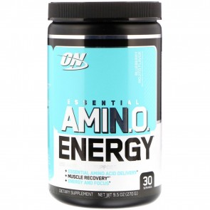 Optimum Nutrition Essential AmiN.O. Energy Blueberry Mojito 9.5oz (270g) 30 Servings
